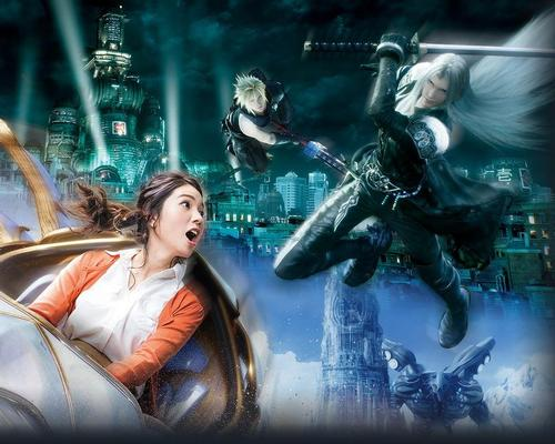 The Final Fantasy attraction is a reformatting of Universal Japan's Space Fantasy The Ride
