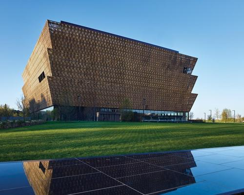 The National Museum of African American History and Culture in Washington DC has been announced as the design of the year 2017 by London's Design Museum / Alan Karchmer/NMAAHC
