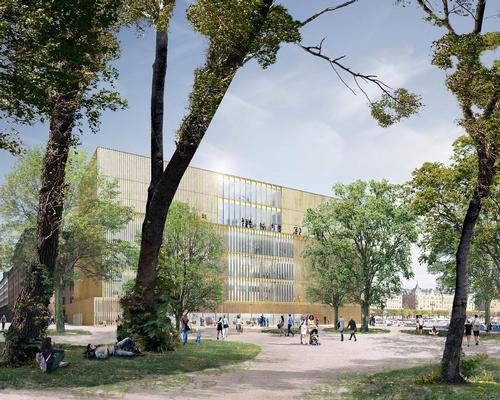 The proposed Center will house nearly all the foundation's activities, including the Nobel prize ceremony, a museum, a restaurant and bar, an auditorium for forums and debates and public spaces / David Chipperfield Architects