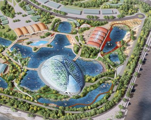 Grimshaw Architects, creators of the original Eden Project, are working on the design