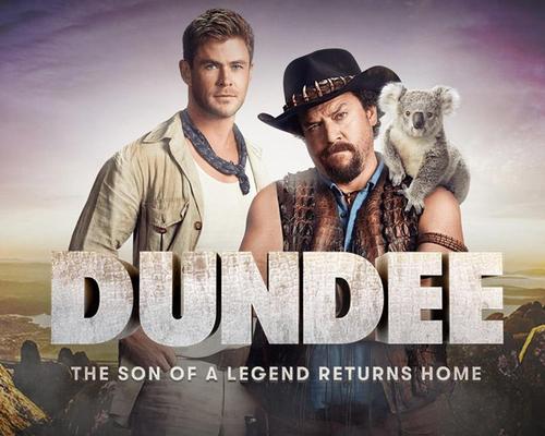 Crocodile Dundee promotes Australian tourism as Chris Hemsworth and Danny McBride reimagine popular film series in new campaign