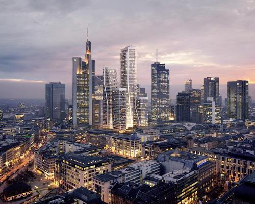 Four towers will be sat atop a vast plinth housing hotels, restaurants, bars, shops and open public spaces / UNS+HPP