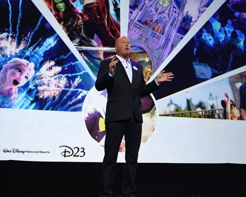 Chapek revealed details about a number of Disney projects at the D23 fan event in Tokyo, Japan
