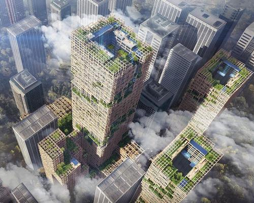 Sumitomo Forest wants cities to become forests, with developers turning their attention to timber high-rises / Sumitomo Forest