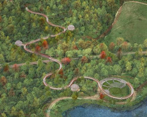 UK's longest treetop walkway wins planning permission