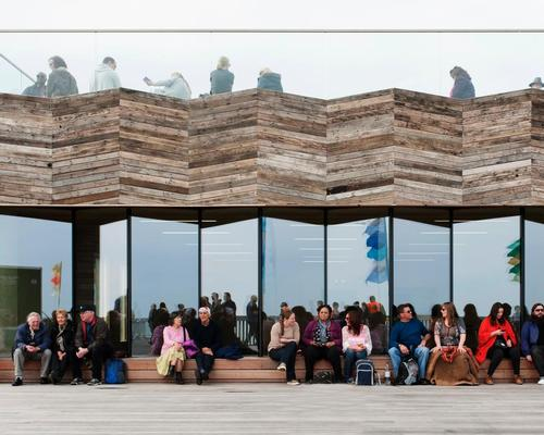 Stirling Prize-winning Hastings Pier up for sale