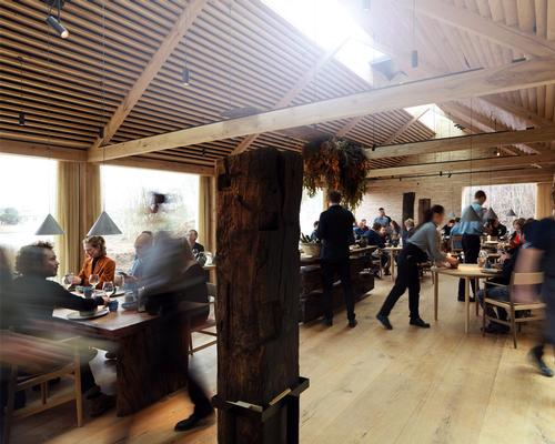 Renowned restaurant noma re-opens within converted sea mine depot by BIG