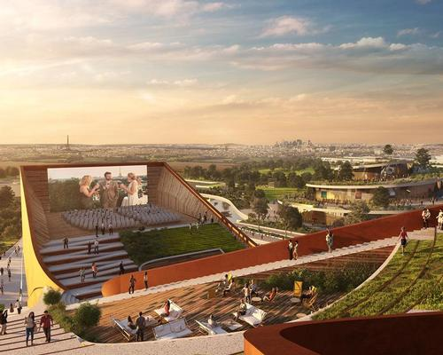 UNStudio win competition for EuropaCity's indoor/outdoor cinema complex