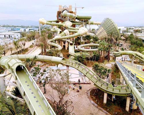 Atlantis Sanya's waterpark, Aquaventure, is opening soon / ProSlide