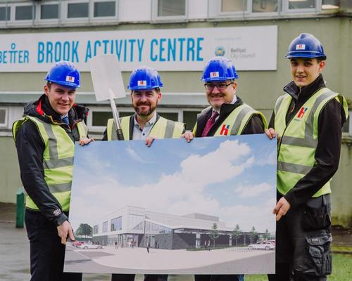 Work begins on Belfast leisure centre as part of £105m leisure programme