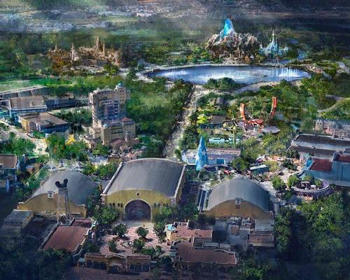 disney is investing €2bn in three new lands themed on Marvel, Frozen and Star Wars  / Disney