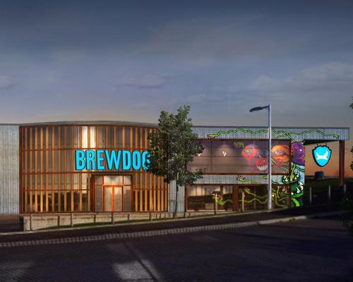 To be called DogHouse, the hotel is scheduled to open in the first half of 2019 / BrewDog