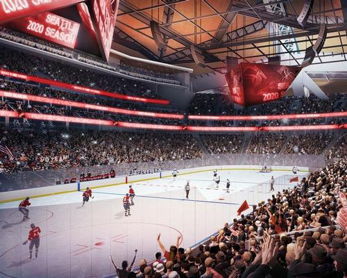 The renderings show an intimate 17,000-capacity seating bowl used for National Hockey League  fixtures / OVG