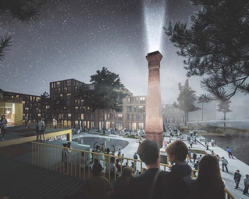 Waterside will create a 'year-round vibrant community' complete with cultural venues, leisure and retail facilities / Henning Larsen