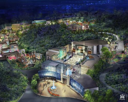A new rendering from JRA shows the completed park / JRA