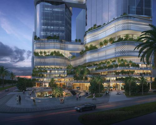 The project is described as 'the functional centre for Shenzhen to develop into a global super city' / GroupGSA