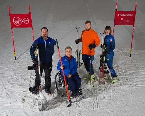 Paralympic athletes Ben Moore (Para snowboard), Angie Malone (wheelchair curling), Brett Wild (Guide) and Millie Knight (Para alpine skiiing) will be representing Paralympics GB at Pyenongchang