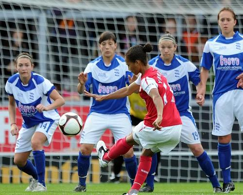 The success of the FA Women's Premier League has contributed to an increase in attendances