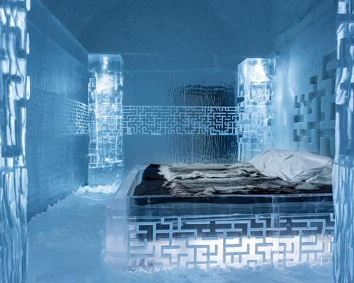 Everything must be entirely made from ice and snow and rooms must be original and include a bed / Icehotel