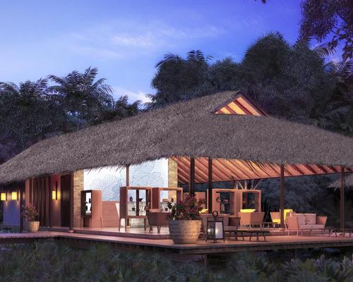 The project, situated next to a 10 million-year-old rainforest on Datai Bay, has been led by Didier Lefort from Paris studio DL2A / Datai Langkawi