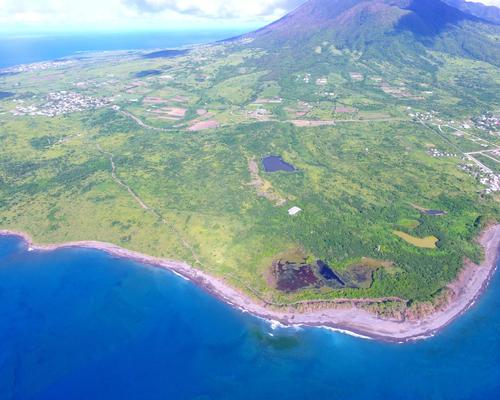 Six Senses St Kitts will open in 2021 on this site on the western side of the island / Six Senses