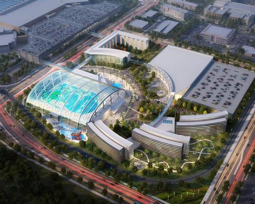 The waterpark proposal is one of the largest in North America / Mall of America/DLR Group