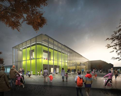 Once complete, facilities will include a new, glass-fronted gym with functional training area on the first floor