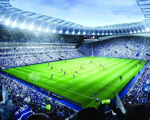 The club has today (11 March) released visualisations of the stadium's seating bowl, walkways and hospitality facilities. / Tottenham Hotspur