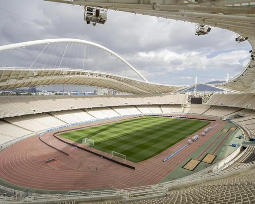 The Athens Olympic stadium was designed by Spanish architect Santiago Calatrava for the 2004 Games