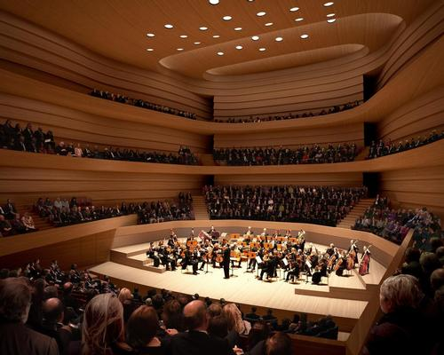 Designs revealed for Chipperfield's Edinburgh concert hall