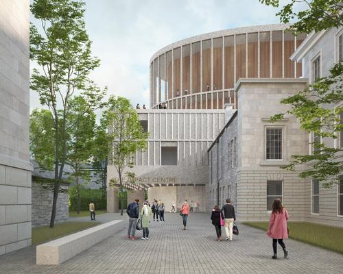 The venue, situated behind the historic Dundas House at 36 St Andrew Square, will be the permanent home of the Scottish Chamber Orchestra (SCO) / The IMPACT Centre