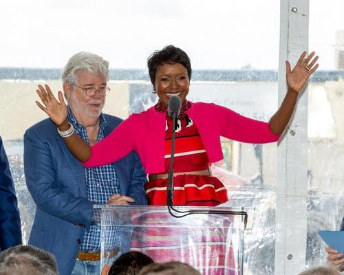 Museum co-founder Mellody Hobson said: 'Our goal is to create the world's most inclusive and accessible art museum' / Lucas Museum of Narrative Art