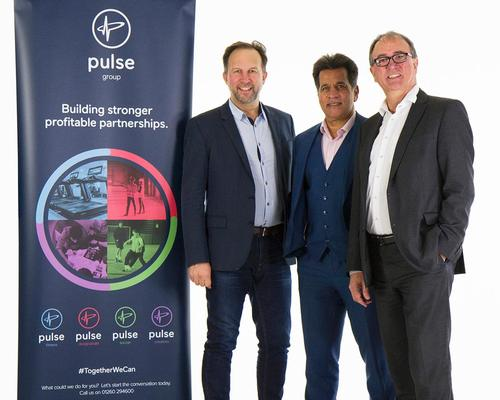 Chaudry (centre) will become chair of Pulse, joining managing director Chris Johnson and production director Dave Johnson on the board / Pulse Group