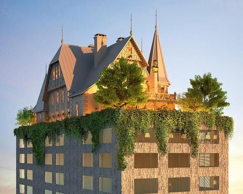 Philippe Starck joins forces with Hilton to create 'phantasmagoric' hotel in Metz