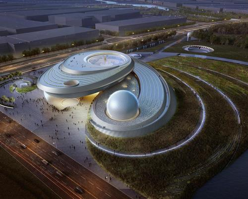Ennead's competition-winning design draws inspiration from astronomical principles, invoking the experience of orbital motion / Ennead Architects