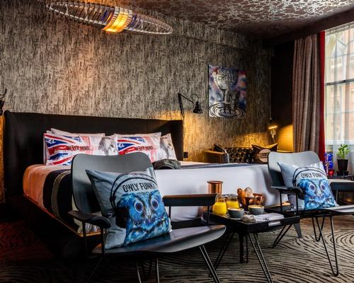 Henry Chebaane brings humour to hospitality with quirky 'Hip Pop Britannia' hotel concept