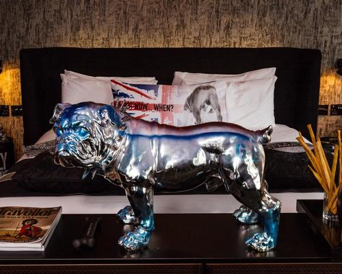 Familiar British motifs fill the rooms / Blue Sky Hospitality