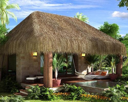 The resort will include 70 suites, each with its own private pool and outdoor terrace
