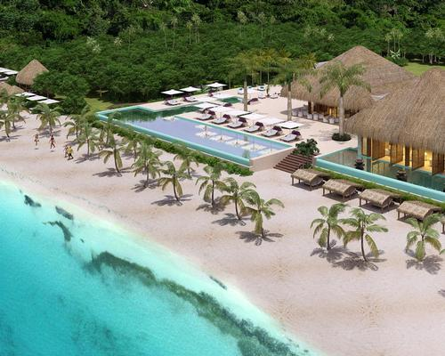 The five-star beach resort will be set between a tropical jungle and Maroma Beach
