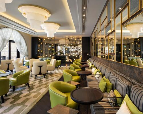 The grand lounge bar is 'the beating heart of the hotel' / Thomas Andersen