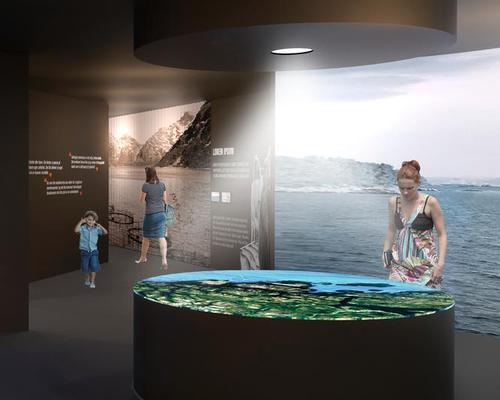 The exhibition explores the history of Norway's fish-farming industry dating back to 1970