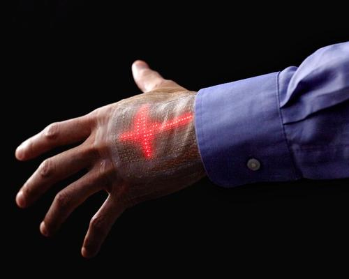 Japanese researchers develop 'e-skin' display capable of monitoring body stats