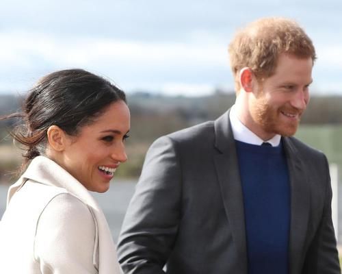 Prince Harry and Meghan Markle visit Titanic Belfast