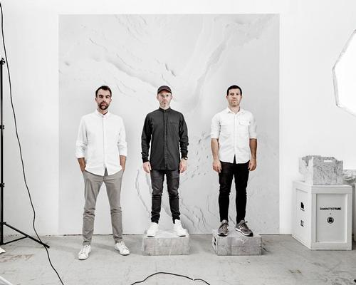 Founded in 2008 by Alex Mustonen and Daniel Arsham, and joined by partner Benjamin Porto in 2014, Snarkitecture is collaborative practice operating between art and architecture based in New York