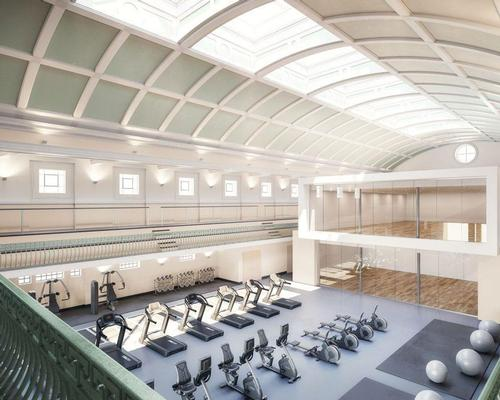 The new development will also feature a new spa with improved disabled access, as well as a state-of-the-art fitness suite, and conditioning studios