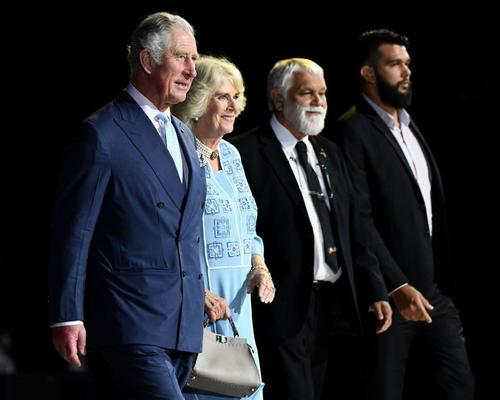 Prince of Wales opens Commonwealth Games, described