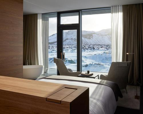 The Retreat is set in the centuries-old lava and surrounded by the Blue Lagoon's revitalising waters