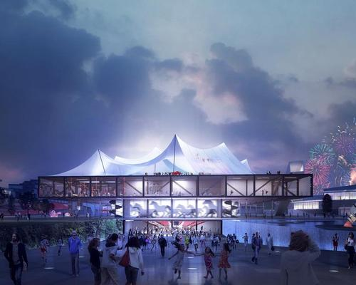 Clément Blanchet Architecture's Contemporary Circus / EuropaCity