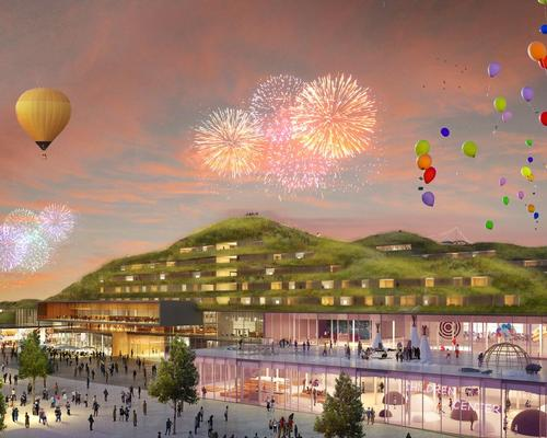 Franklin Azzi Architecture's Hotel and Children's Cultural Centre / EuropaCity