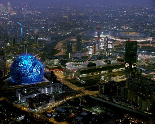 MSG has bought nearly 5 acres of land for the attraction, which will be situated directly east of the Westfield Stratford City shopping centre / MSG